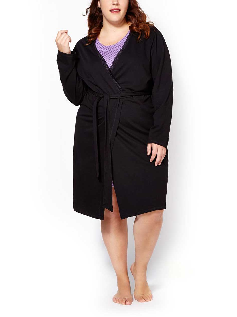 Ti Voglio French Terry Robe