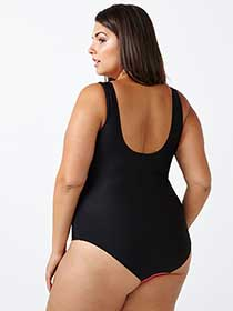 Sea - Colour Block One Piece Swimsuit