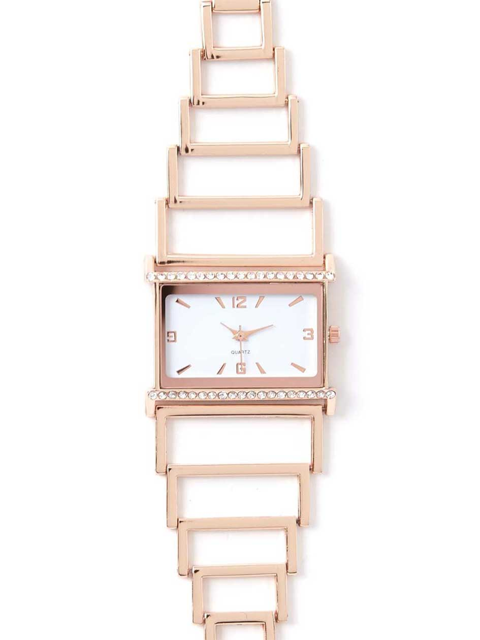 Rectangle Band Watch