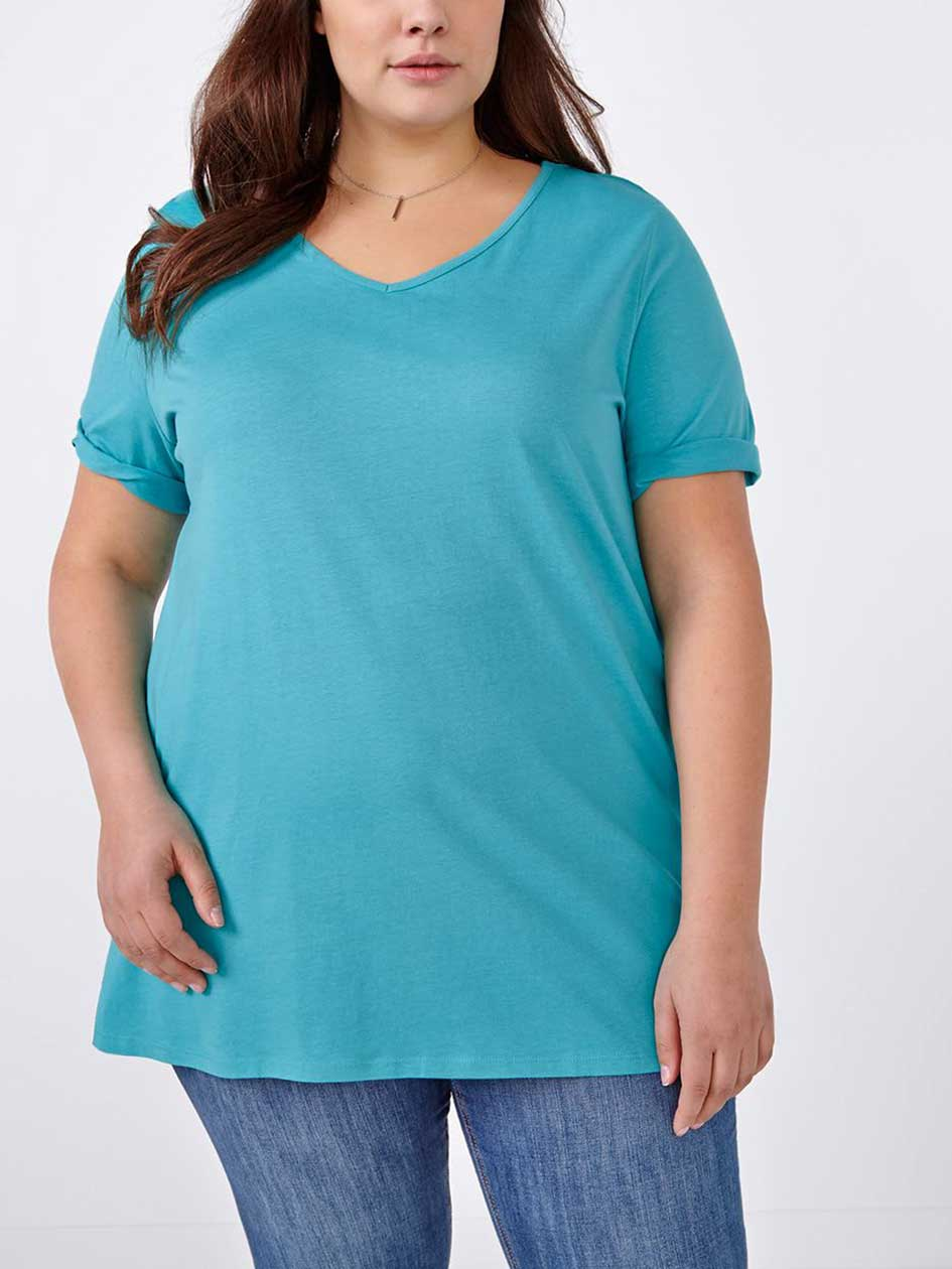 Relaxed Fit Cotton T-Shirt