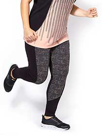 Essentials - Plus-Size Printed Legging