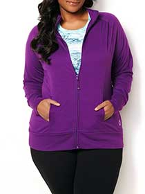 ActiveZone Zip Front Jacket