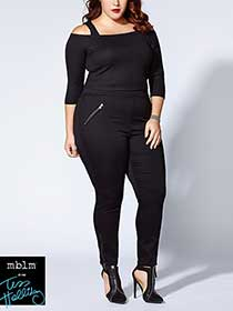 Tess Holliday - Jegging with Zipped Pockets