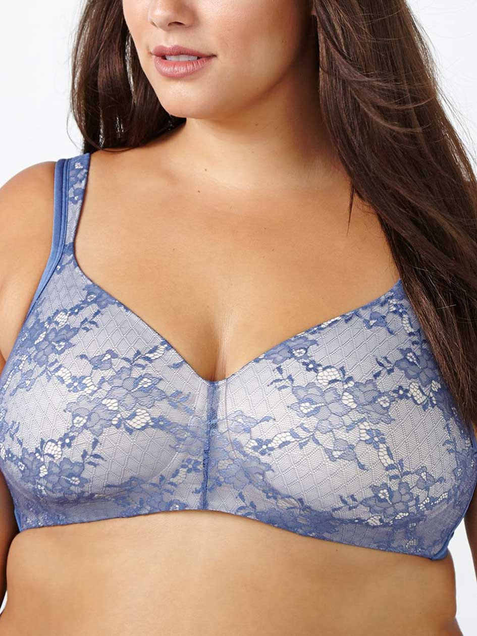 Ti Voglio Padded Wirefree Bra with Lace, G & H Cups