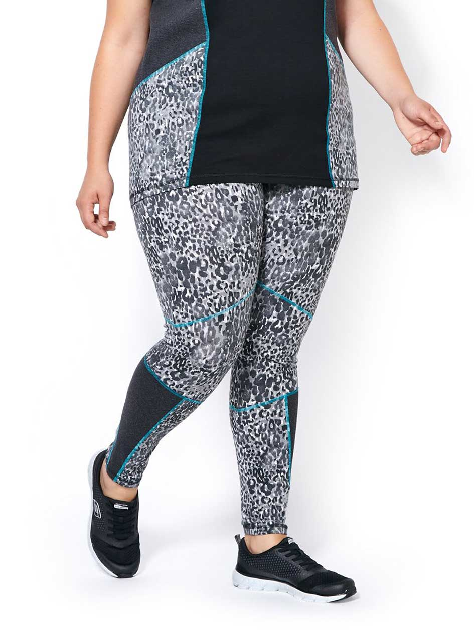 Essentials Tech - Legging imprimé taille plus