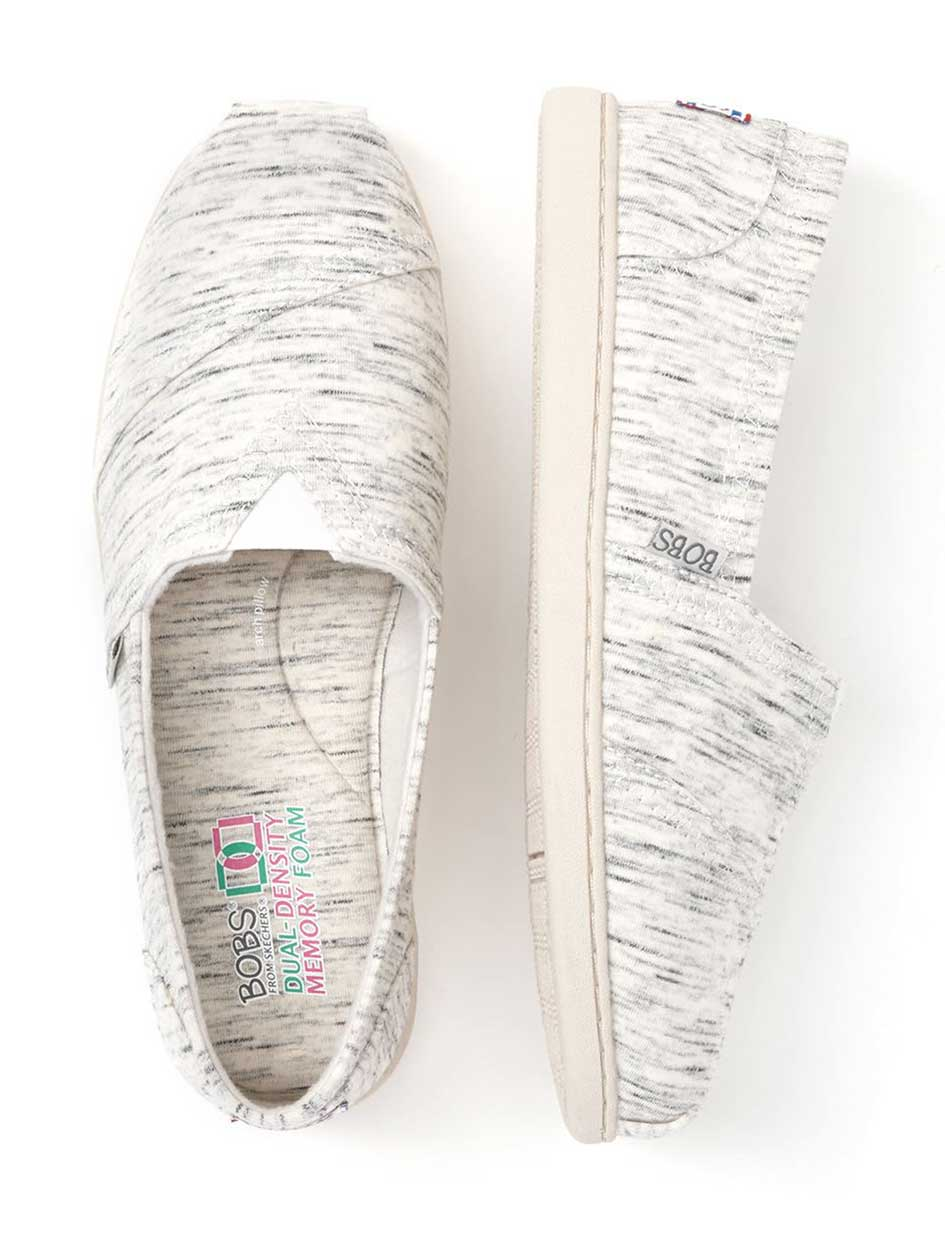 BOBS From Skechers - Wide-Width Space Dye Canvas Espadrilles