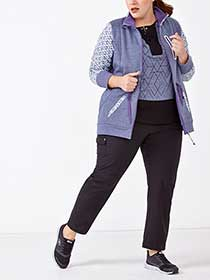 Sports - Plus-Size Stretch Pant