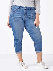 MELISSA McCARTHY Cropped Jean