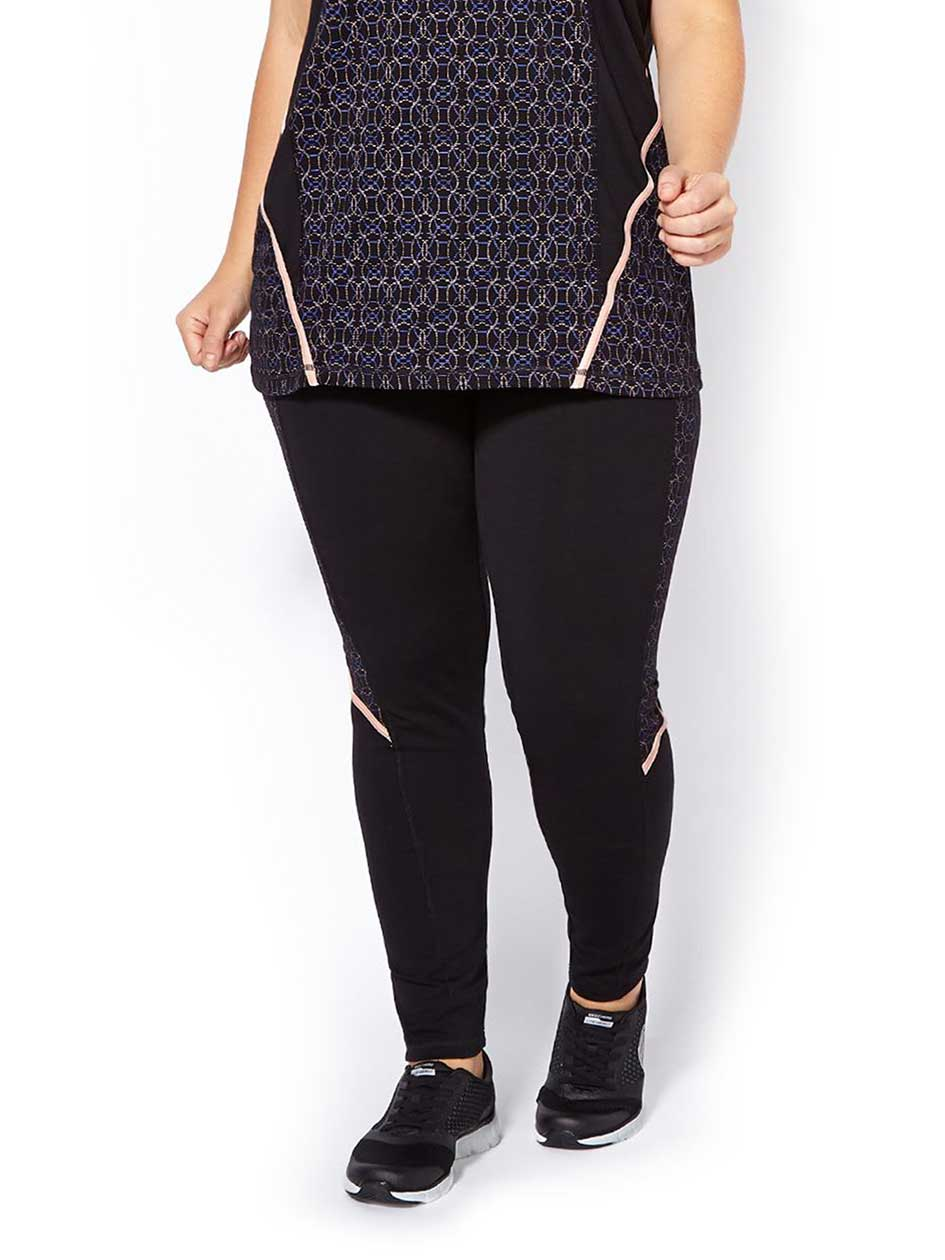 Essentials Tech - Plus-Size Printed Legging