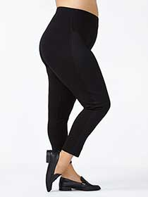 Legging en maille point de Rome