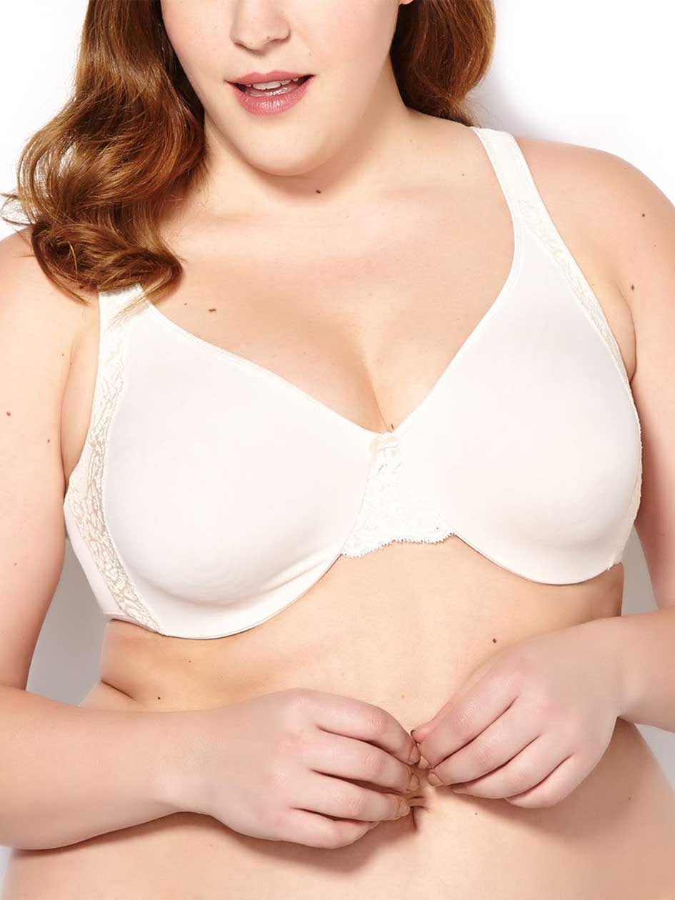 Ti Voglio Soft Cup Bra with Lace, G&H Cups
