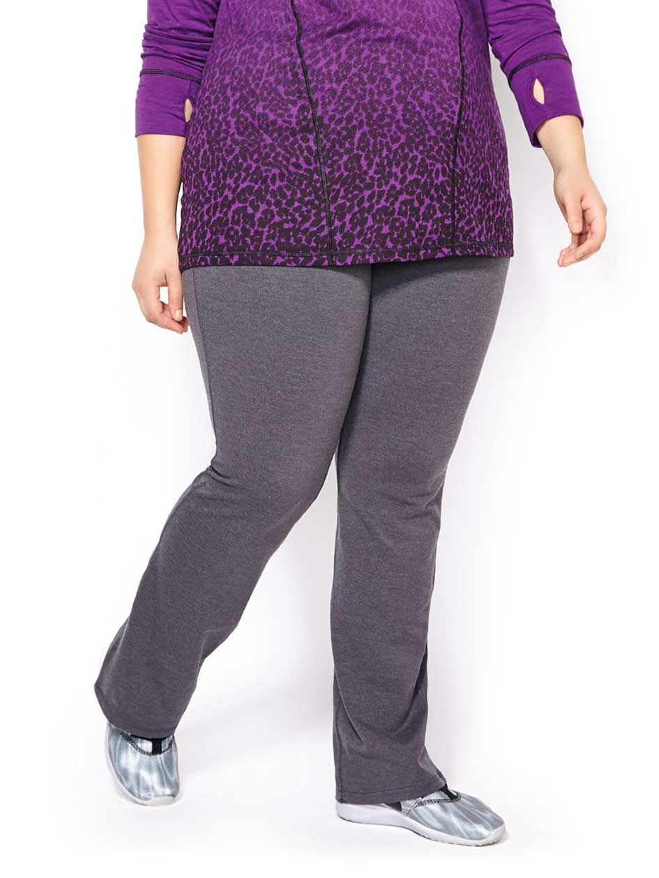 Essentials - Plus-Size Basic Yoga Pant