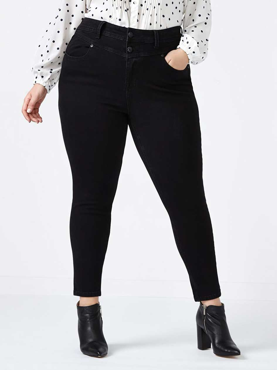 MELISSA McCARTHY High Rise Pencil Jean