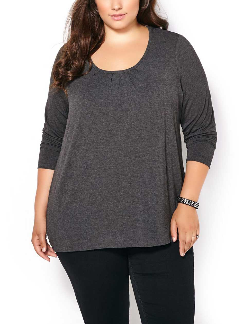 Relaxed Fit Long Sleeve T-Shirt