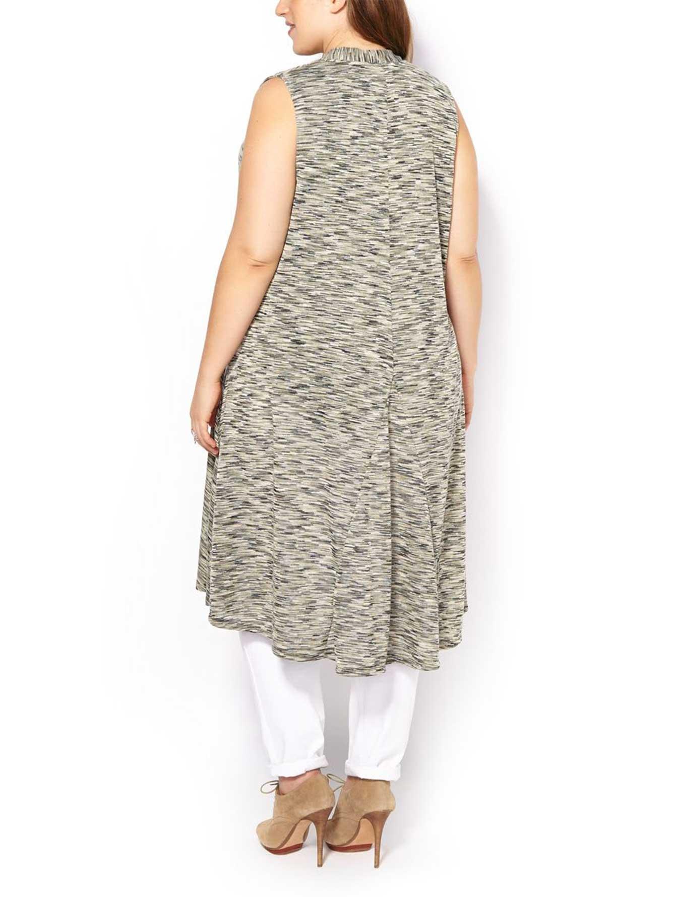 Sleeveless Cardigan Knitting Pattern : Sleeveless Knit Cardigan Penningtons