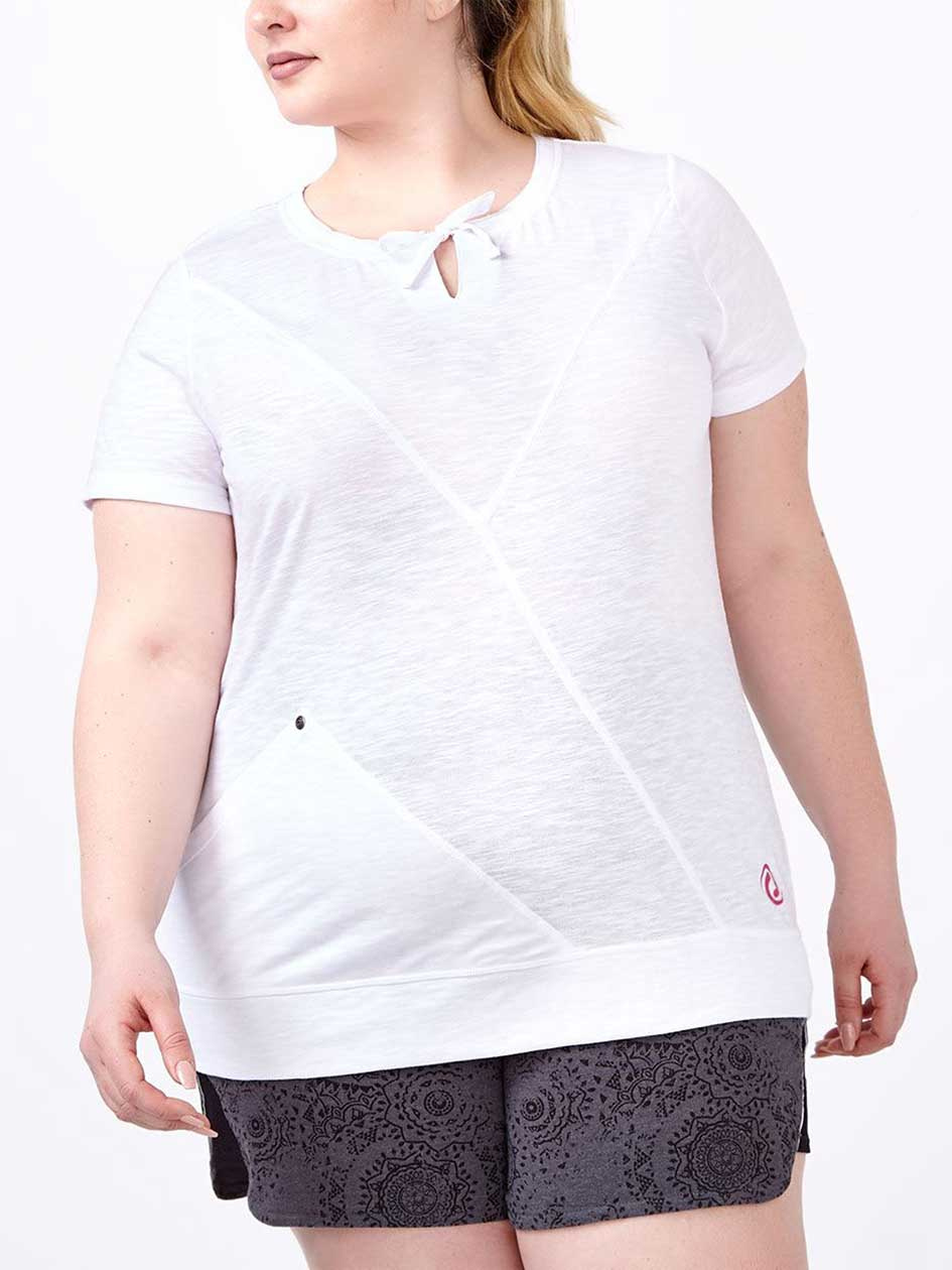Essentials - Plus-Size T-Shirt with Stitching Detail