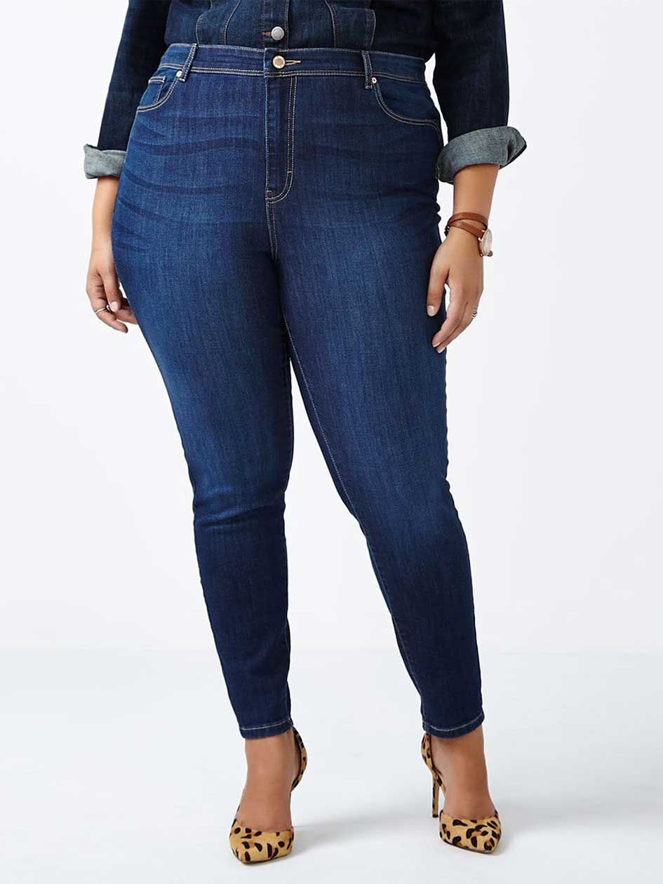 ONLINE ONLY - d/c JEANS Tall Slightly Curvy Fit Skinny Jean