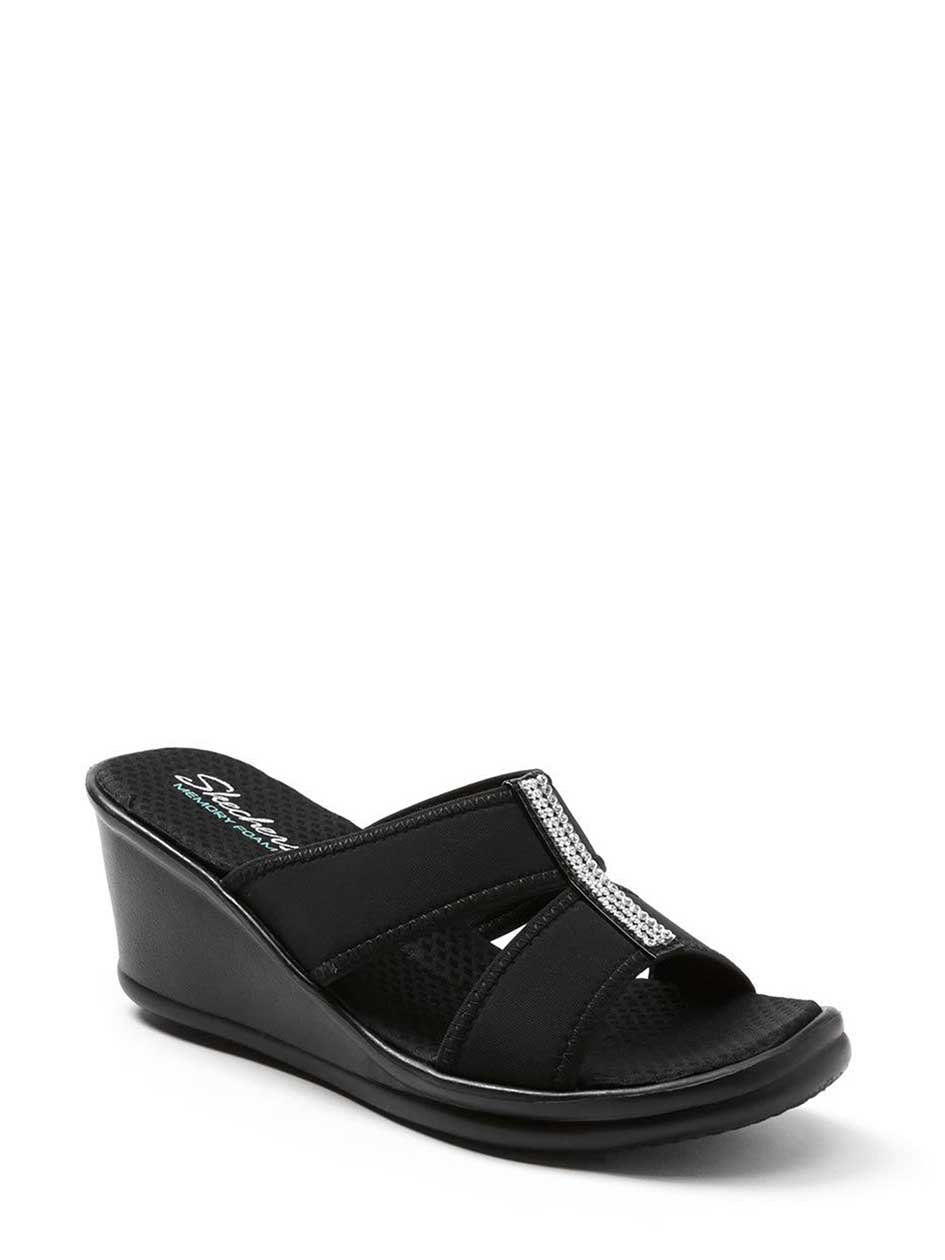 Skechers Wide-Width Wedge Sandals