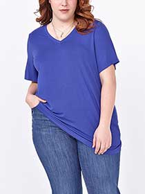 Relaxed Fit V-Neck T-Shirt