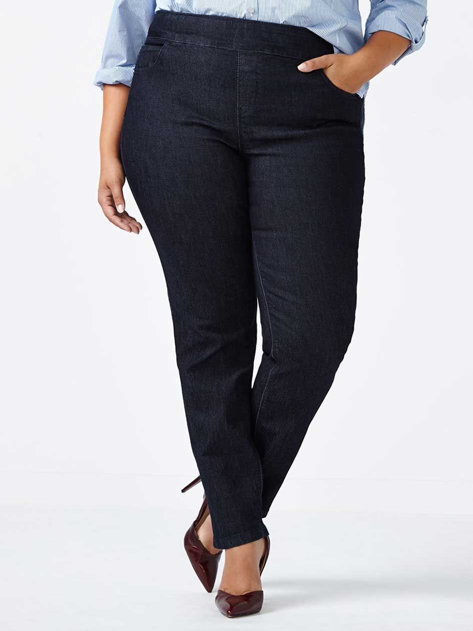 d/c JEANS Savvy Straight Leg Jean