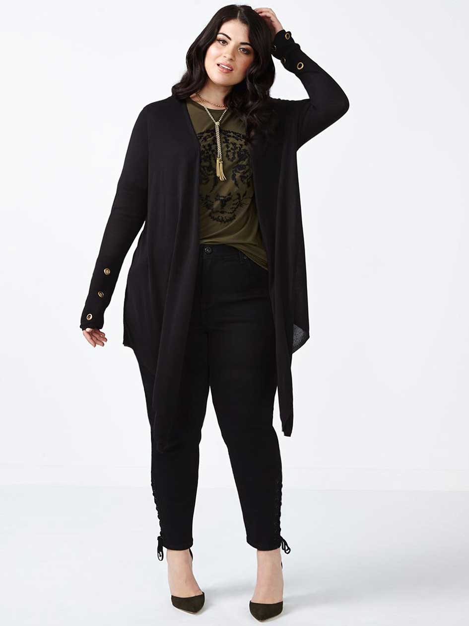 MELISSA McCARTHY Cardigan à manches longues