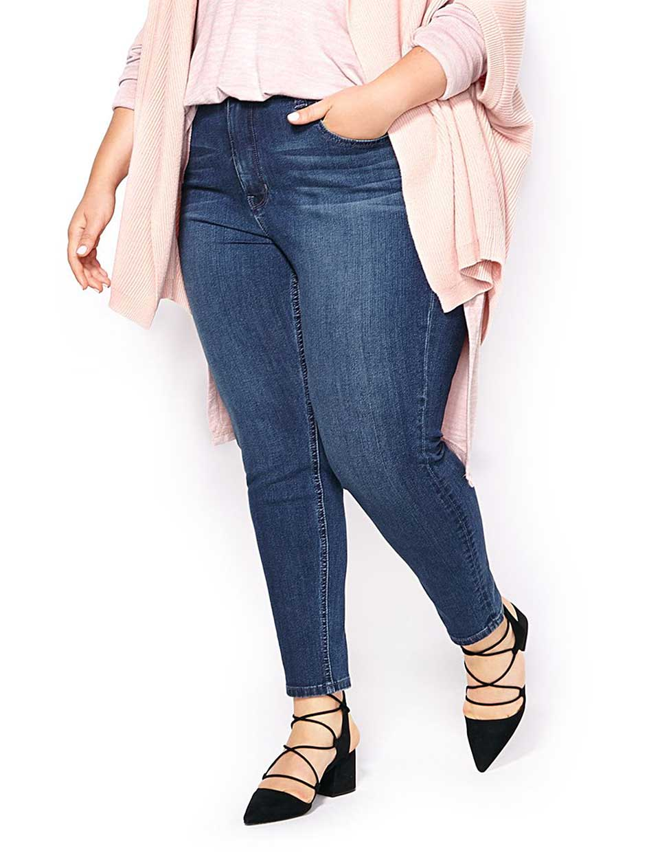 MELISSA McCARTHY Pencil Ankle Jean
