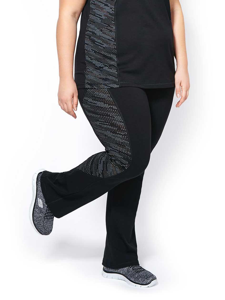 Essentials - Plus-Size Printed Yoga Pant