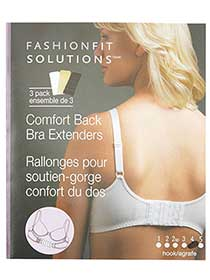 4 Hook Bra Extenders (Set of 3)