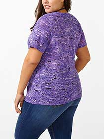 Curve Fit Printed T-Shirt
