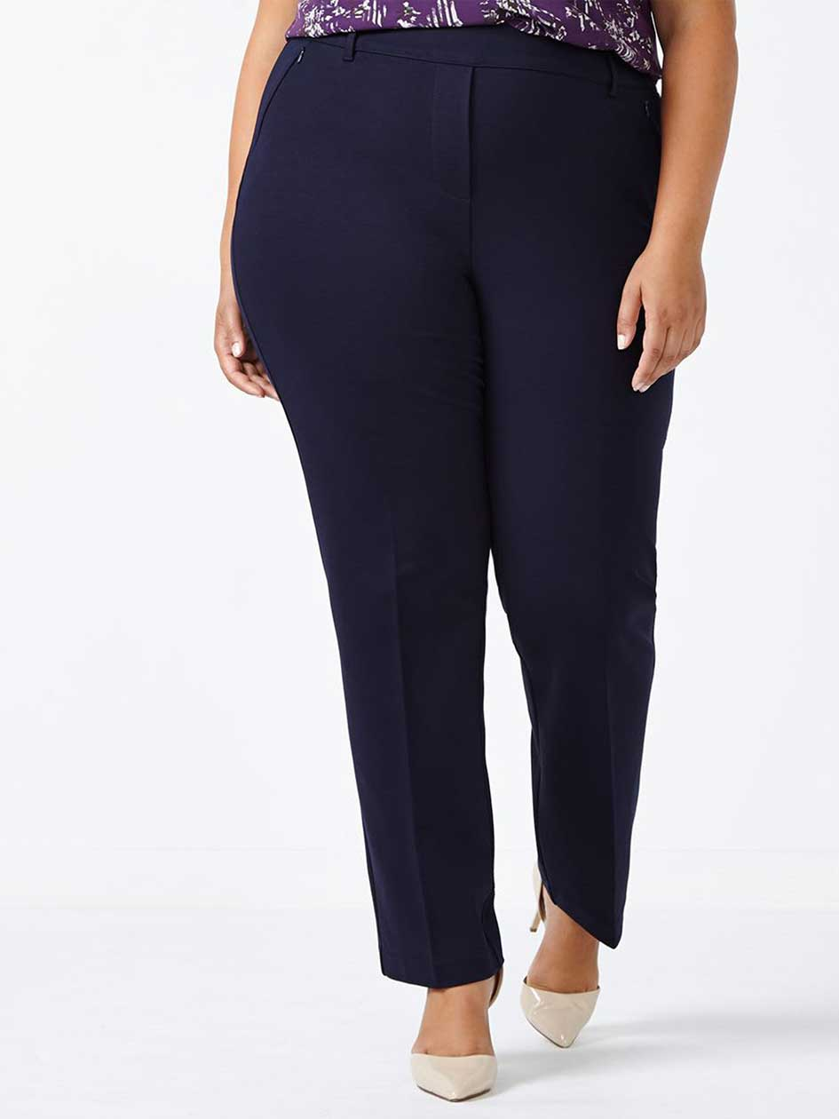 ONLINE ONLY - Tall Savvy Straight Leg Ponte de Roma Pant