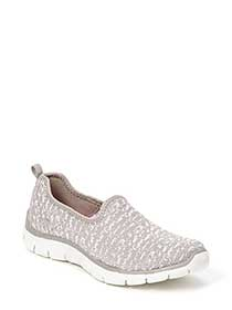 Skechers - Wide-Width Relaxed Fit Sneakers