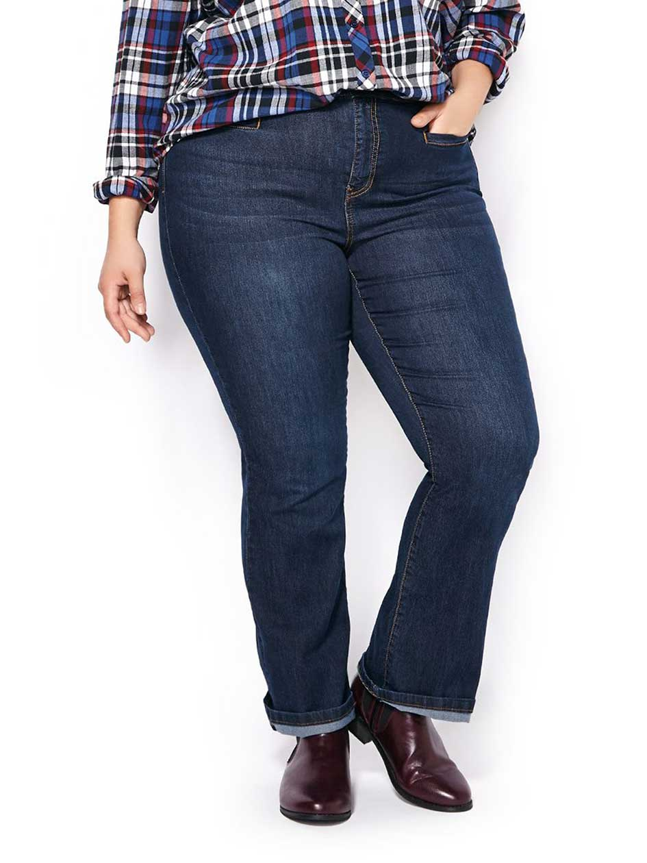 d/c JEANS Slightly Curvy Fit Bootcut Jean