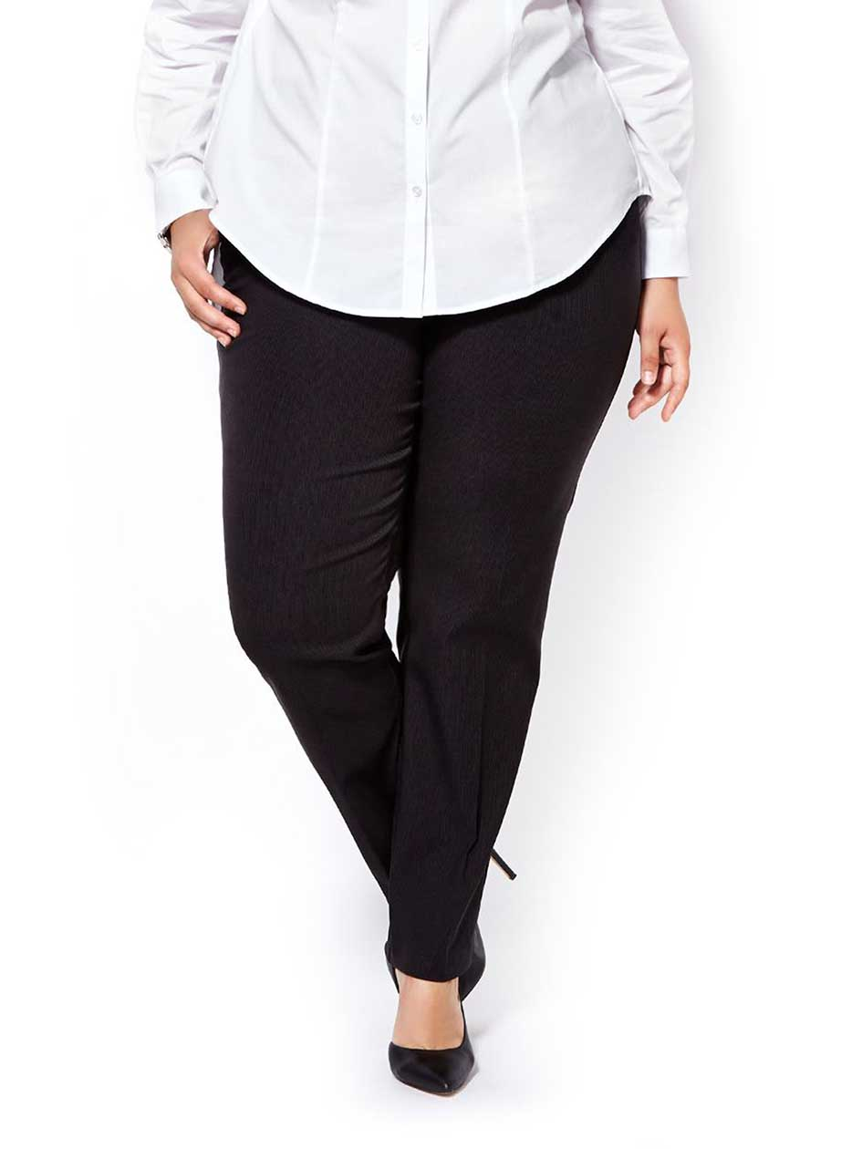 ONLINE ONLY - Tall Slightly Curvy Fit Straight Leg Patterned Pant