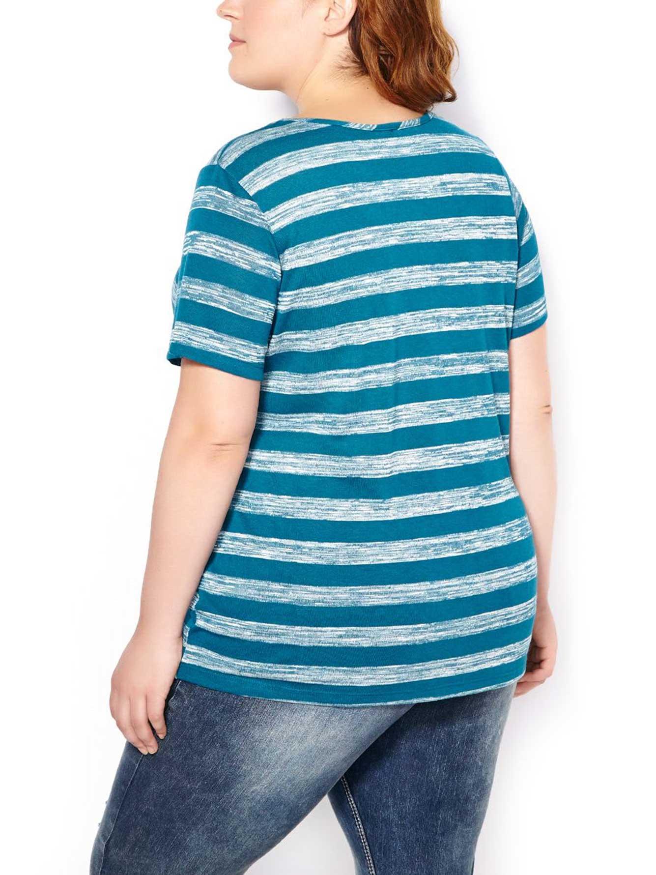 Form Fit Striped T Shirt Penningtons
