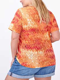 Shaped Fit Printed T-Shirt
