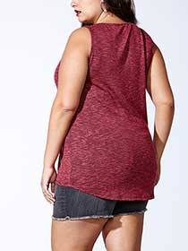 Tess Holliday - Tank Top with Hook and EyeTrim