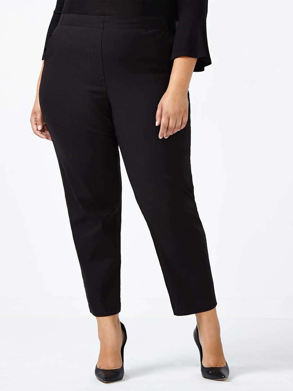 Pull On Cropped Pant