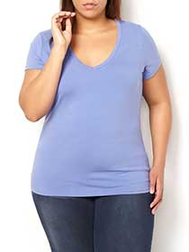 Form Fit V-Neck T-Shirt