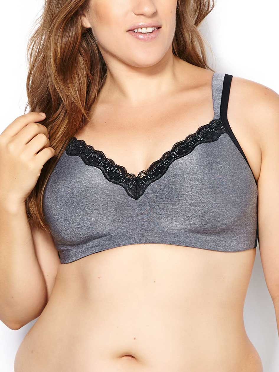 Ti Voglio Padded Wirefree Bra with Lace