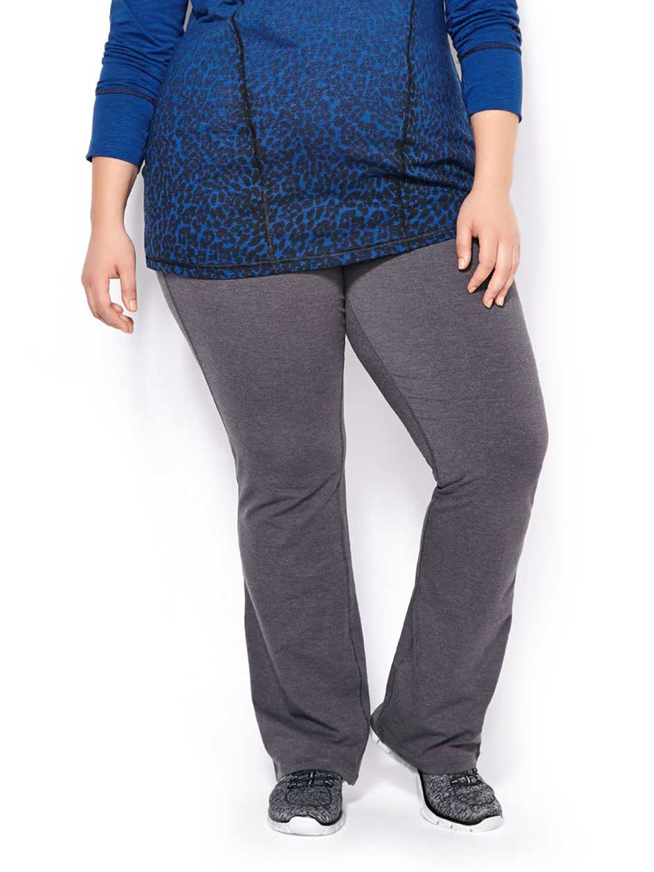 Essentials - Petite Plus-Size Basic Yoga Pant
