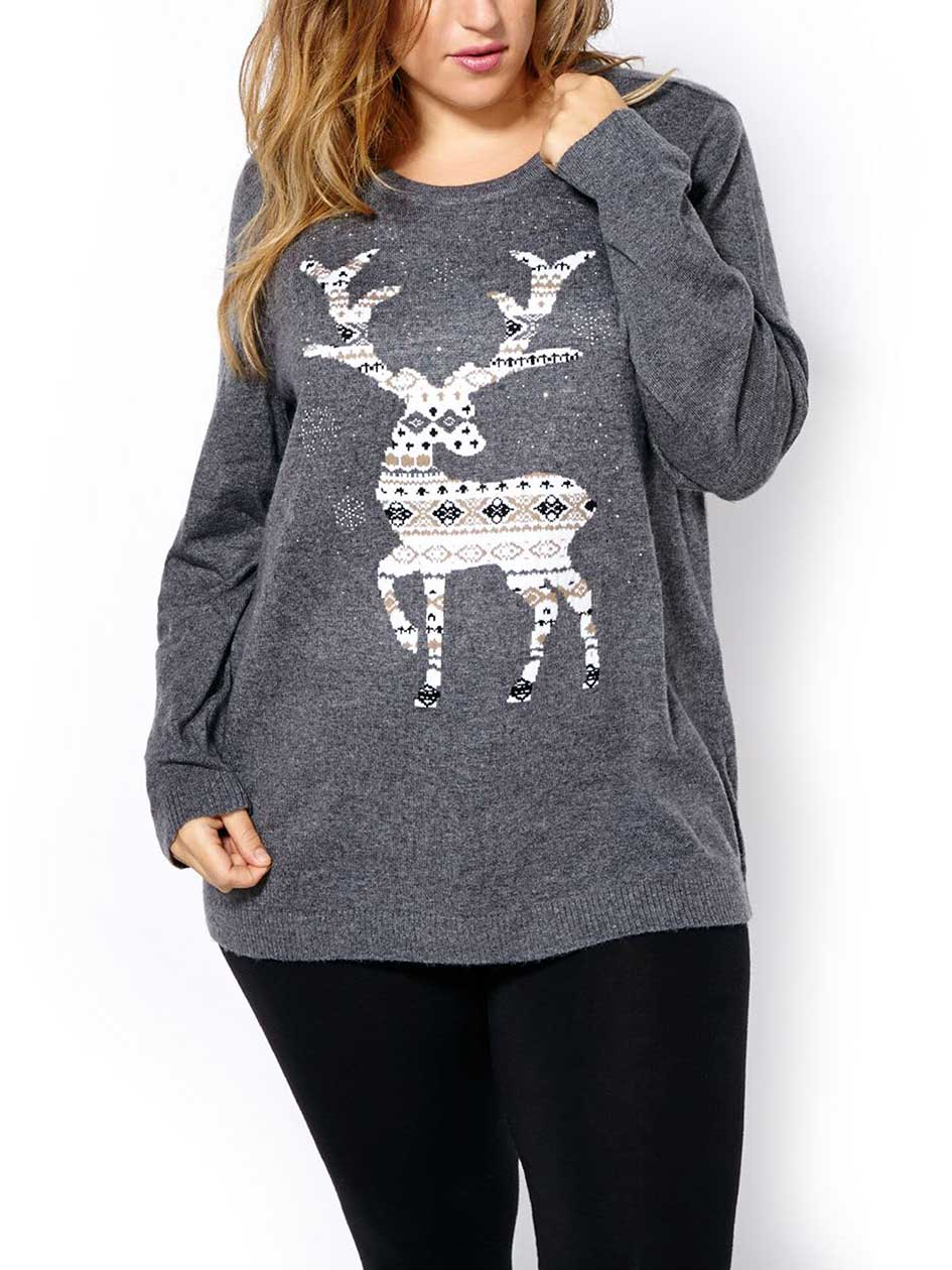 Long Sleeve Holiday Sweater