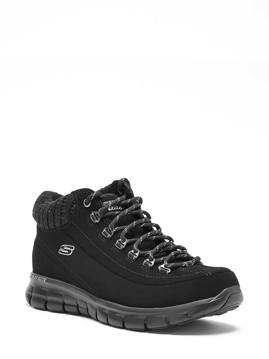Skechers Wide-Width Lace Up Boots