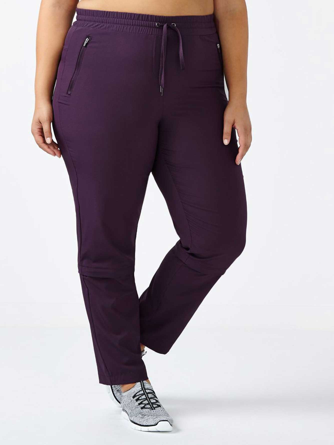 afb98d4b931 ... Plus-Size Zip Off Pant. tap to zoom