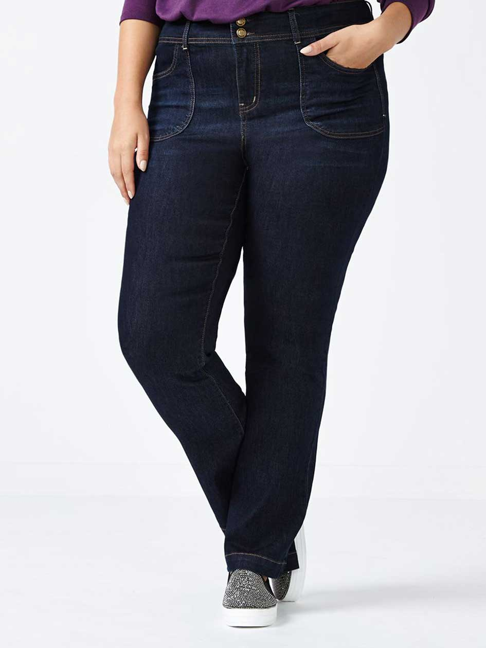 ONLINE ONLY - d/c JEANS Straight Fit Bootcut Jean