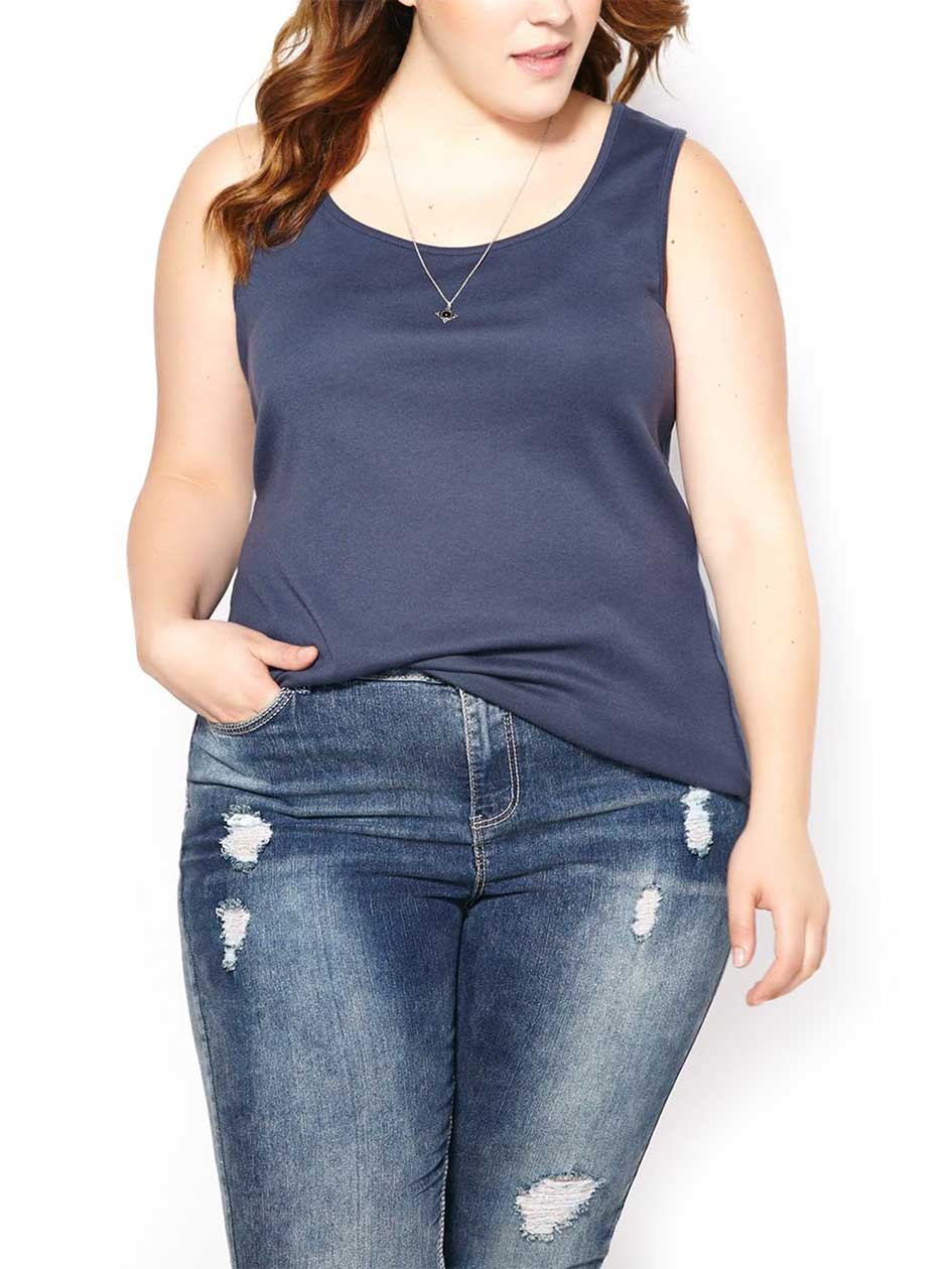 Shaped Fit Tank Top
