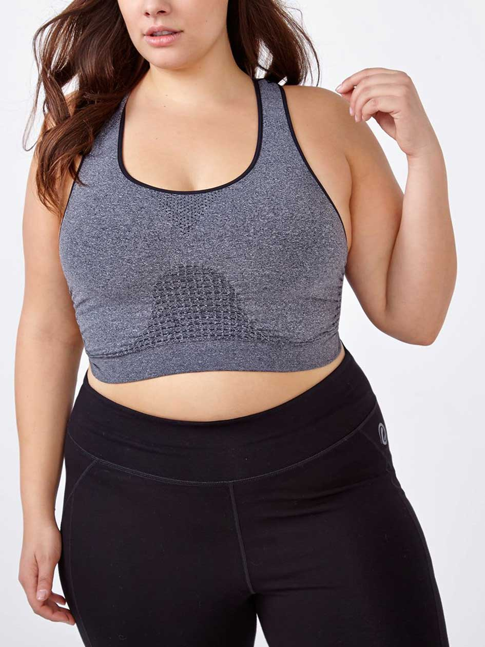 ActiveZone - Seamless Bralette with Mesh