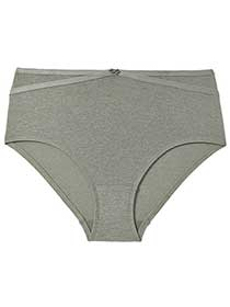 Ti Voglio Brief Panty with Criss-Cross