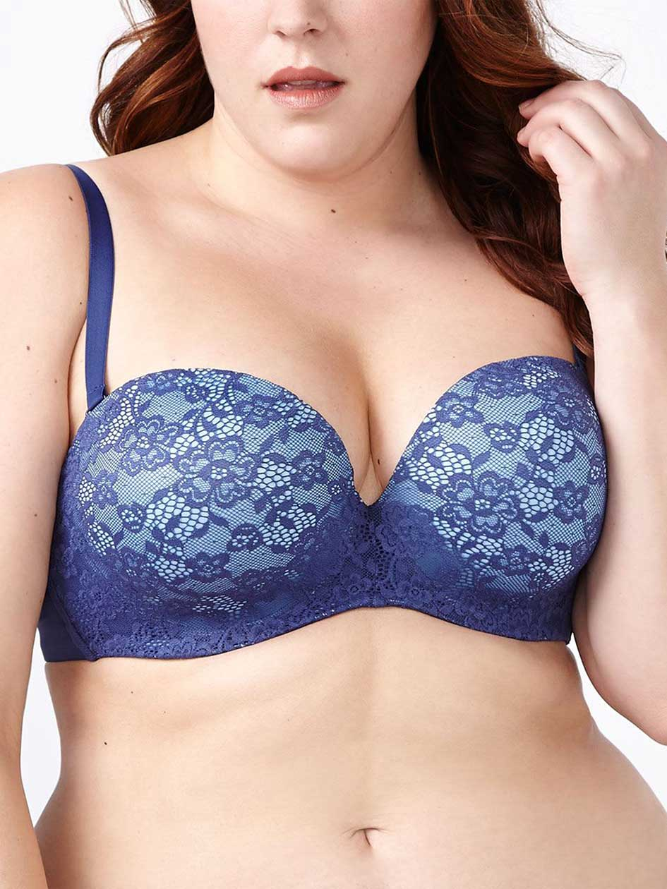 Ti Voglio Strapless Lace Multifunction Bra