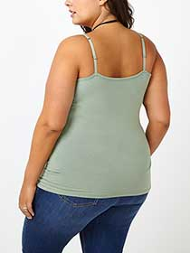 Form Fit Long Basic Tank Top