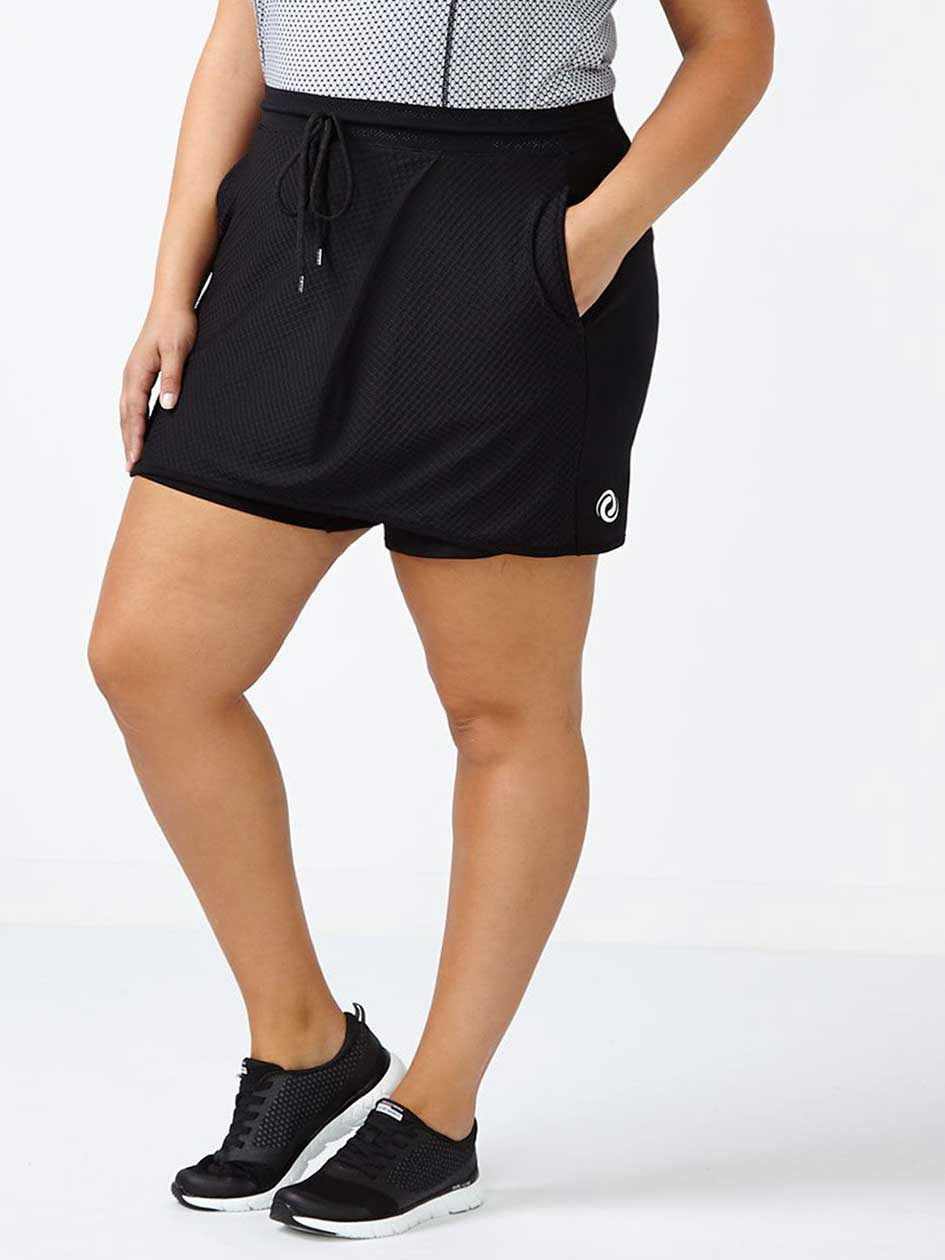 Athleisure - Plus-Size Skort